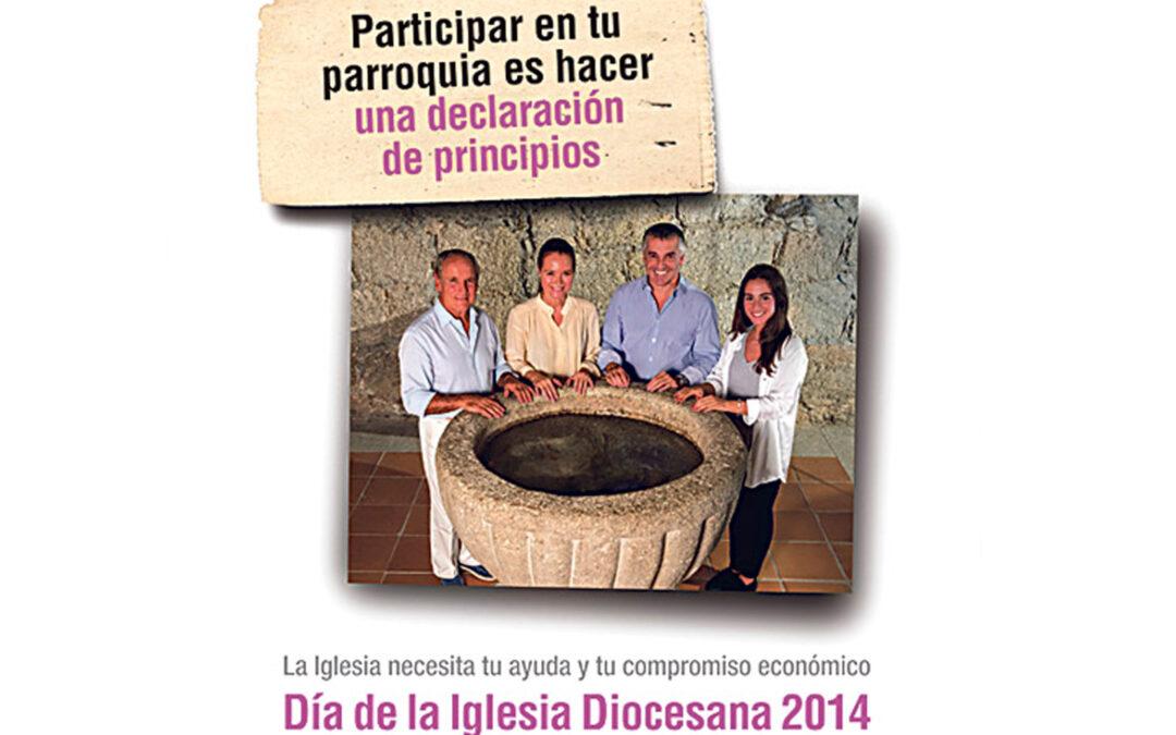 La alegría de construir todos la Iglesia de Dios en Valencia Este domingo 16, Día de la Iglesia Diocesana, colectas especiales en las parroquias para el sostenimiento de su labor pastoral y asistencial