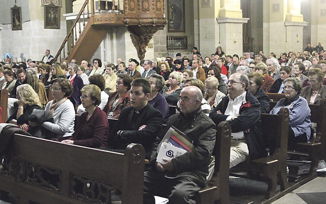 Concluyen en Llíria las presentaciones del IDE por el Cardenal El encuentro para la vicaría V tuvo lugar en la parroquia de la Asunción