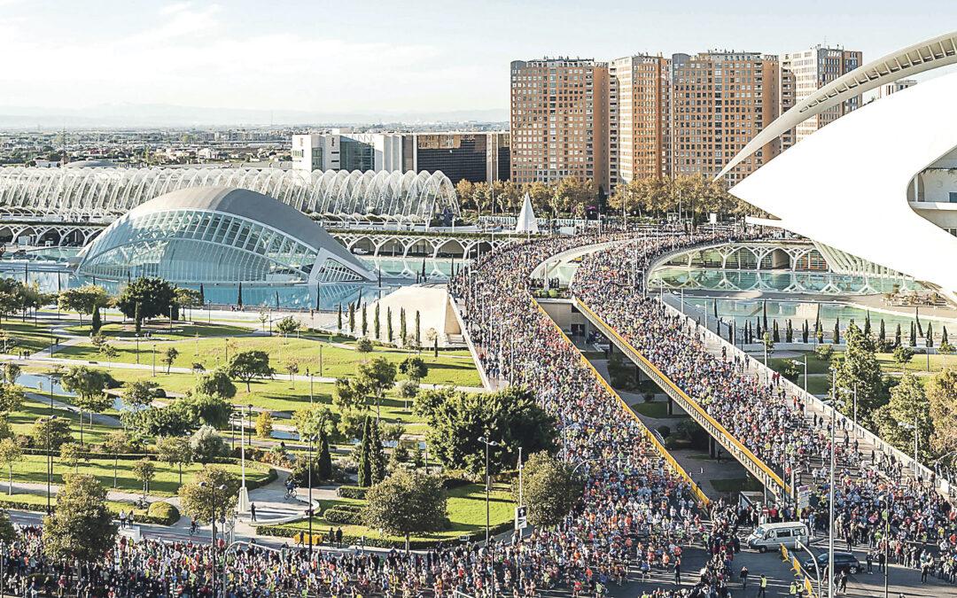 Los 'finishers' del Maratón de Valencia  consiguen 11.523 € para San Juan de Dios A ello se suman 3.846 euros de las aportaciones en las inscripciones
