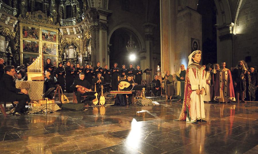 El canto medieval de la Sibila vuelve a escenificarse por tercer año en la Seo Será interpretado el próximo viernes 28 de noviembre, a las 19:30 horas, por la Capella de Ministrers y la Coral Catedralicia