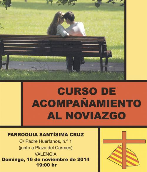 Curso de acompañamiento al noviazgo, en la Santísima Cruz Las sesiones serán mensuales, los domingos a las 19 horas