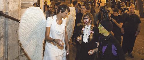 Niños y jóvenes cristianizan Halloween desde las parroquias valencianas