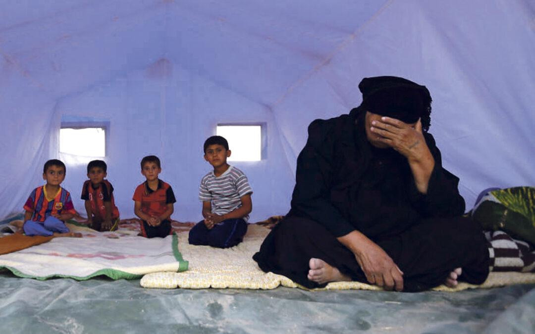Macrocampaña para salvar a la Iglesia en Irak del terror La fundación pontificia Ayuda a la Iglesia Necesitada (AIN) lanza la mayor campaña de su historia