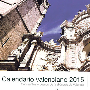 PARAULA publica un calendario ilustrado desplegable de 2015 Con las fiestas de santos y beatos valencianos