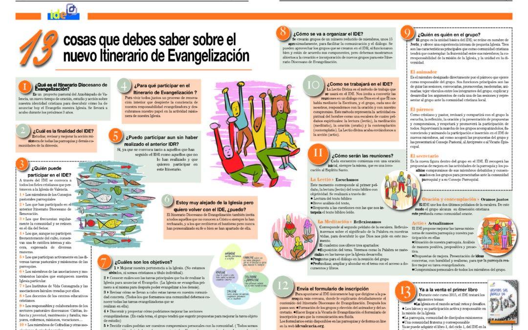 """Empieza el Itinerario Diocesano de Evangelización en las parroquias valencianas El Cardenal: """"Sería un contrasentido contentarnos con una vida mediocre o una religión superficial"""""""