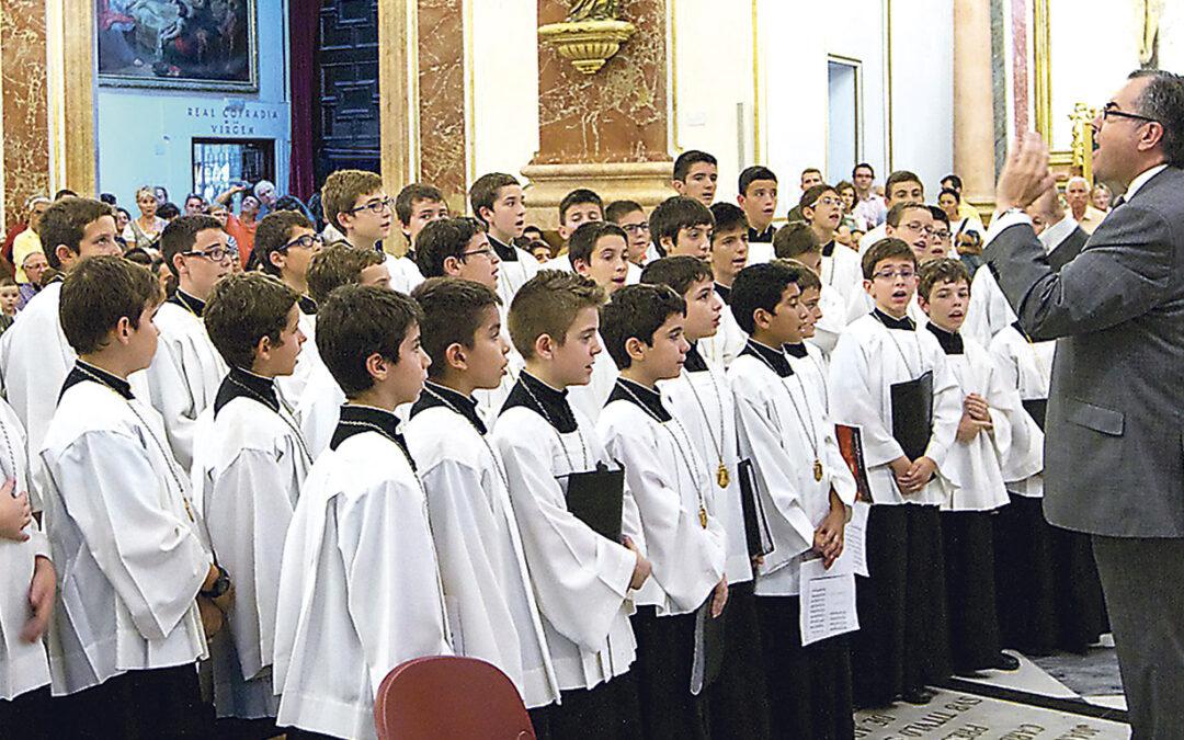 La Escolanía de la Virgen celebra este sábado 28 jornada de puertas abiertas También realizará pruebas de voces a los niños