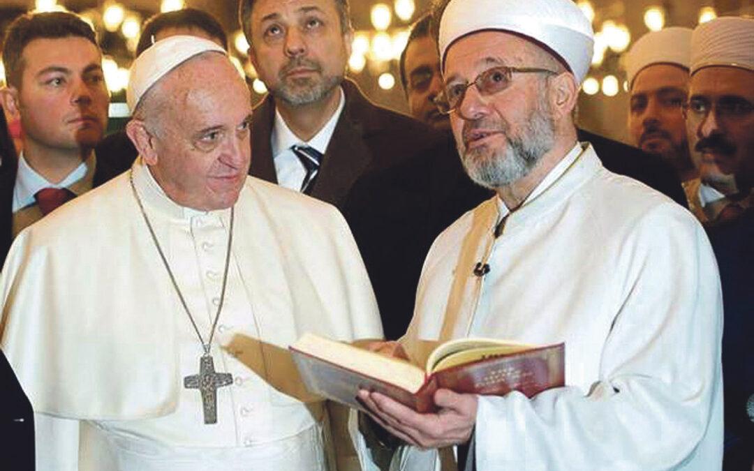 El Papa, el islam y el terrorismo Francisco da protagonismo a los musulmanes que rechazan la violencia