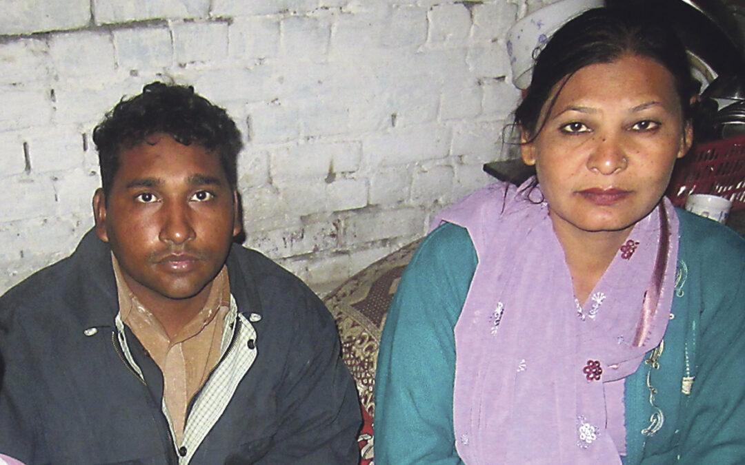 """Pide desde Valencia que Pakistán anule la pena de muerte contra su hermana por una """"falsa blasfemia"""" Joseph Anwar, refugiado por su fe cristiana, promueve una campaña para salvar a su familia presa"""