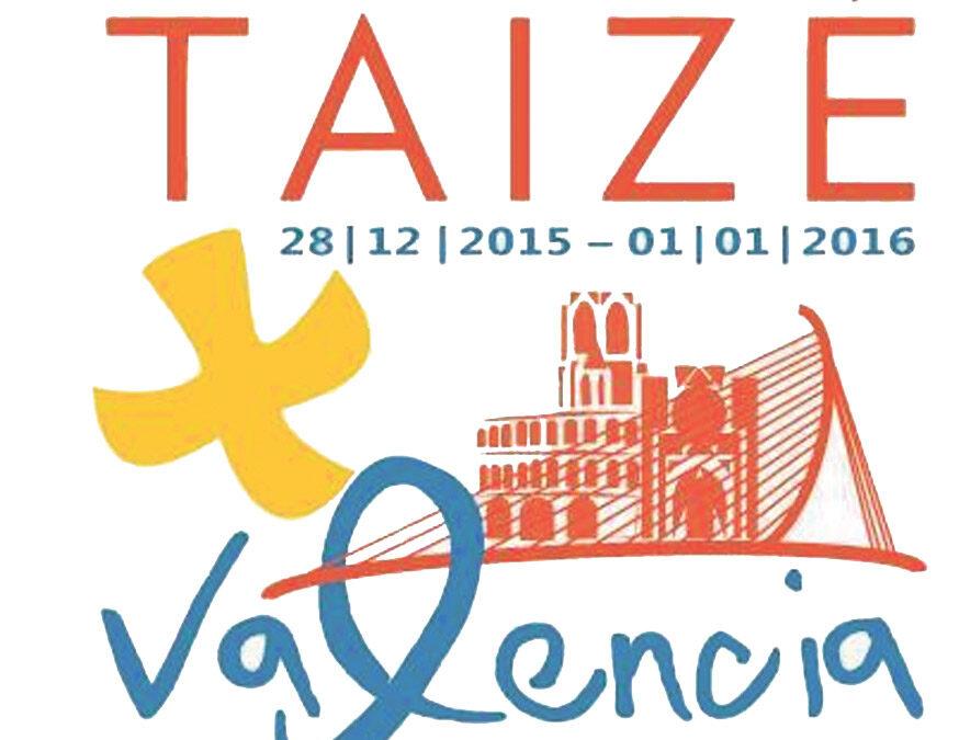 El Encuentro Europeo de Jóvenes de Taizé en Valencia estrena logo Se celebrará en diciembre de este año