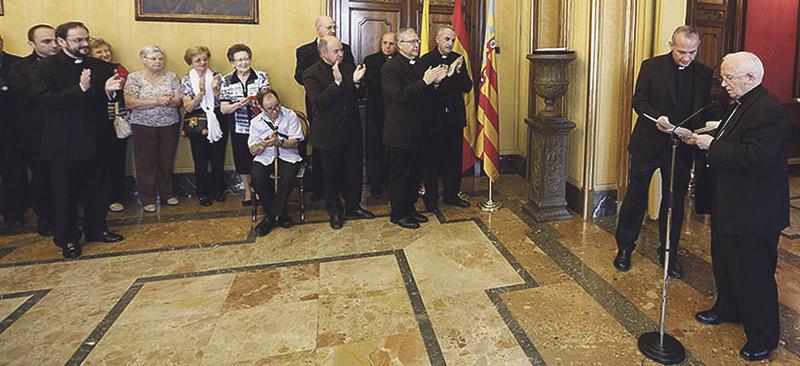 El cardenal Cañizares anuncia que el Papa autoriza otros dos obispos auxiliares más para la archidiócesis de Valencia Además de monseñor Esteban Escudero