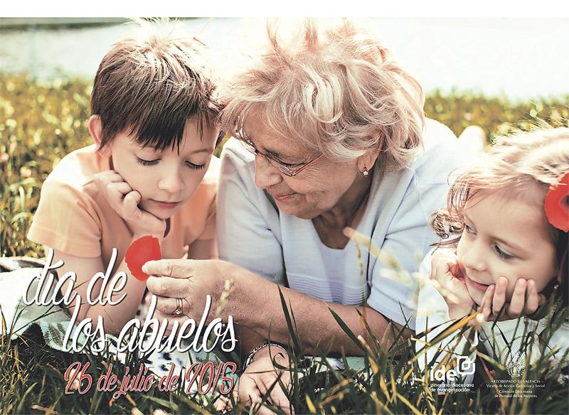 Este domingo, 'Día de los abuelos', auténticos predilectos del Señor En la festividad de san Joaquín y santa Ana, padres de la Virgen