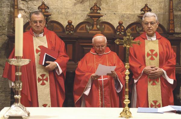 El Cabildo de la catedral de Valencia reelige a Emilio Aliaga como deán-presidente El Cardenal nombra 80 nuevos cargos para la diócesis de Valencia