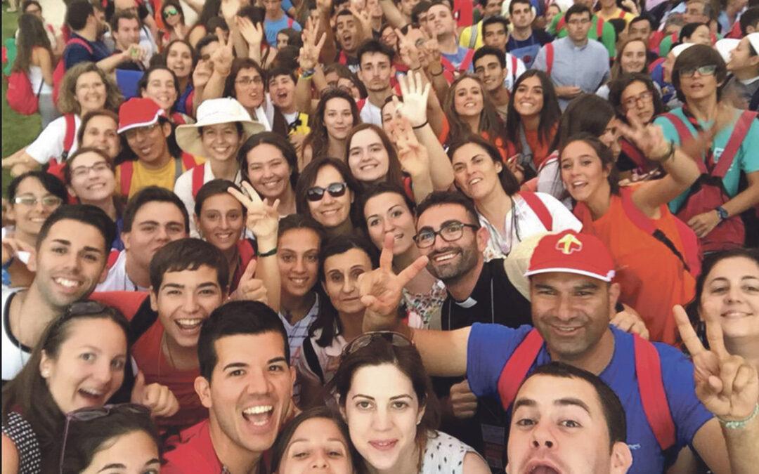 Entusiasmo por Santa Teresa 60 jóvenes valencianos participan en el Encuentro Europeo de Ávila