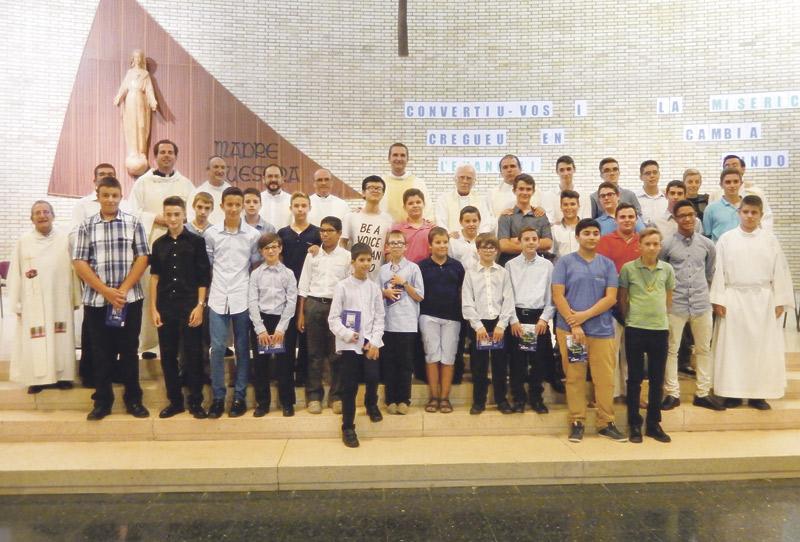 Empieza el nuevo curso en Xàtiva con diez nuevos seminaristas Pablo Valls toma posesión como nuevo rector