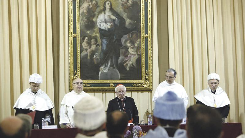 """El cardenal Cañizares abre el curso en la Facultad de  Teología y llama a evangelizar con """"apremiante urgencia"""" """"No podemos estar cruzados de brazos sino evangelizar como si fuera la primera vez"""""""