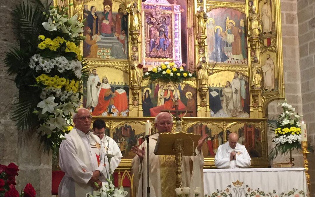 La fiesta de la Virgen de El Puig, solemnidad en la diócesis El Cardenal lo pide a la Santa Sede para cada 1º de septiembre por haber sido primera patrona del Reino de Valencia