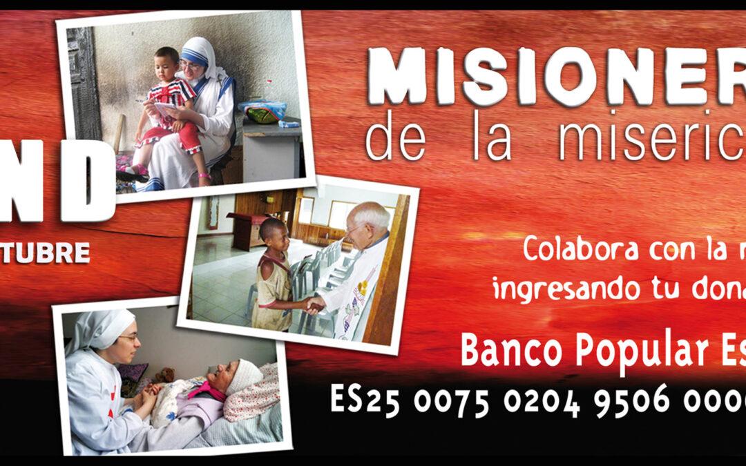 Misioneros, la valentía de llevar a Dios a todos Este domingo 18, campaña del DOMUND