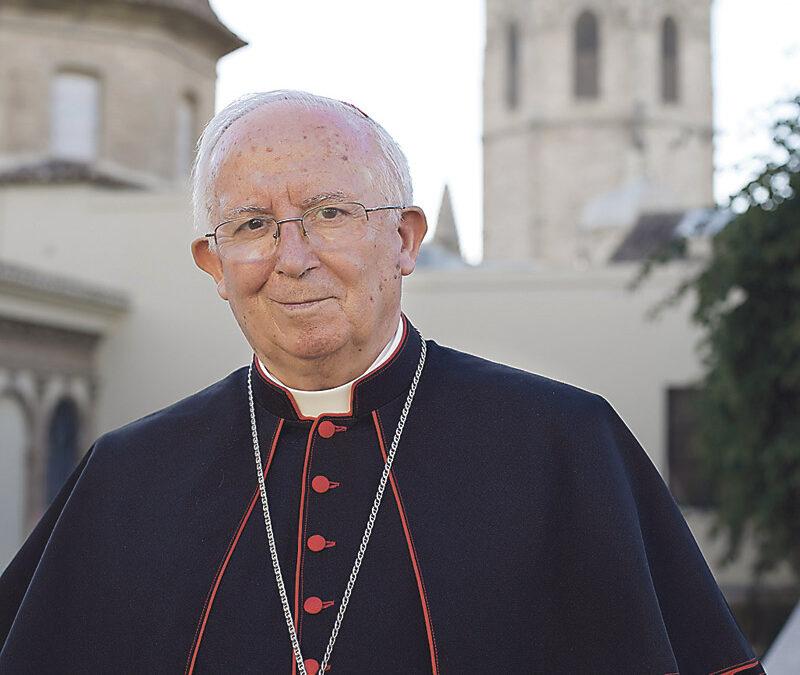 """""""Cada día más valenciano, con más esperanza y más agradecido a Dios y a toda la diócesis"""" Entrevista en COPE al Cardenal, ante el 9 d'Octubre, al cumplir también su primer año como Arzobispo de Valencia"""