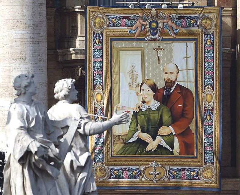 Louis y Marie Zelie Martin santos por crear, día a día, un hogar de fe y amor El Papa canoniza a los padres de santa Teresita de Lisieux y el cardenal Cañizares celebra este jueves una misa en acción de gracias