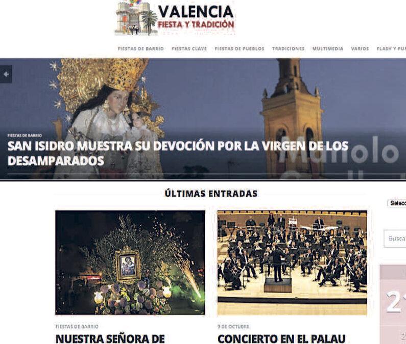 El fotógrafo Manolo Guallart estrena web de tradiciones y fiestas valencianas Cultura, devociones, gastronomía, música, libros y reflexiones