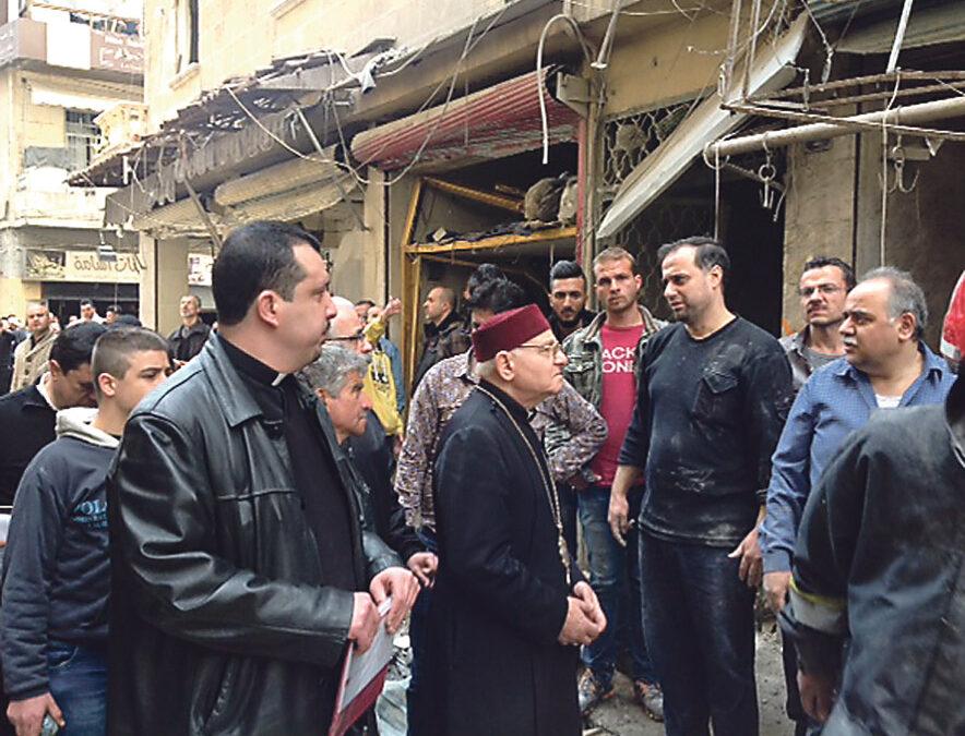 El Arzobispado envía a Siria 35.000 € para un dispensario y comida para 300 familias  A través de la Comisión Diocesana de Ayuda a Refugiados se ayudará desde Valencia al Arzobispado de Alepo