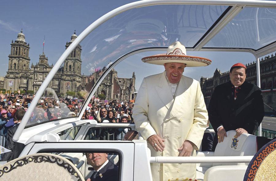 El Papa denuncia en México la cultura del descarte en los pueblos indígenas En su visita al estado de Chiapas, donde ofició una multitudinaria misa