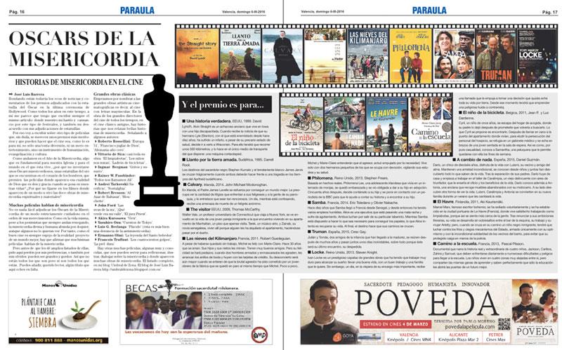 Oscars del cine de la misericordia Historias de la misericordia en el cine