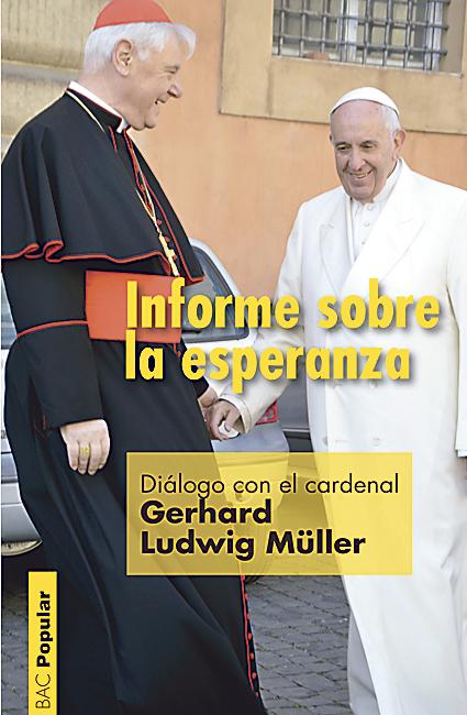 """El cardenal Müller, el 2 de mayo en la facultad de Teología de Valencia Presenta 'Informe sobre la esperanza"""""""