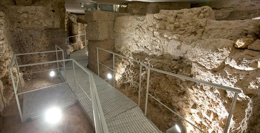 Así es la Valencia romana hallada bajo la Catedral Las obras de restauración del museo catedralicio han dejado restos de la antigua ciudad