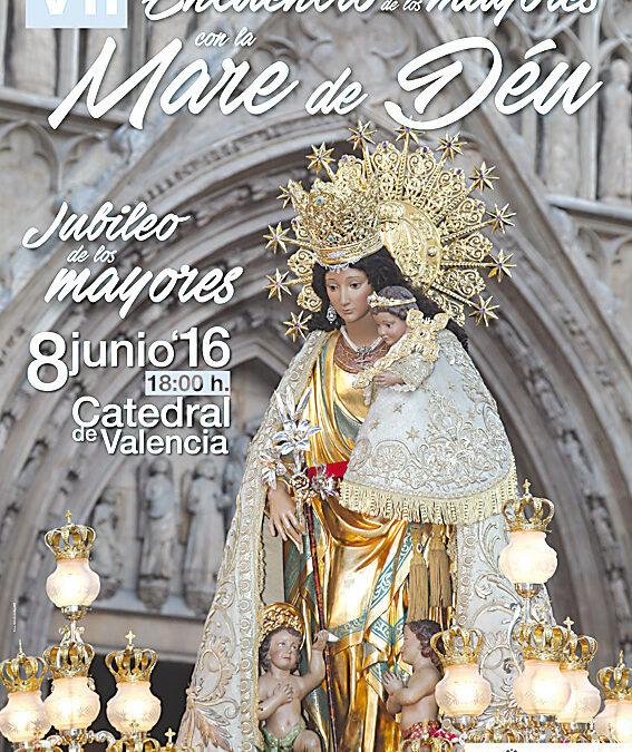 Jubileo de los mayores en su encuentro con la Mare de Déu El miércoles 8 de junio, en la Catedral