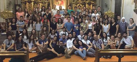 Dos mil jóvenes valencianos en la JMJ 2016 El cardenal Cañiares estará al frente de la expedición que viajará a Cracovia