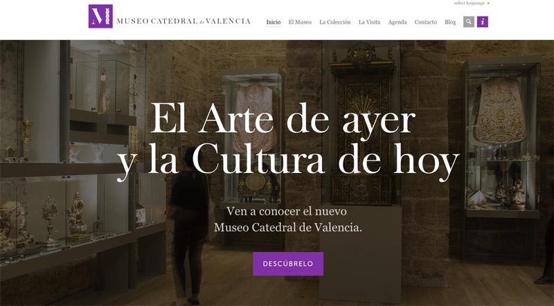 La nueva web del museo de la Catedral ofrecerá un espacio interactivo de evangelización La Seo contará con red wifi gratuita para realizar visitas culturales e interactuar con las obras de arte