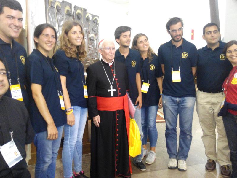 """""""Esta es la Iglesia real"""" Los jóvenes de la JMJ preguntan, don Antonio responde"""