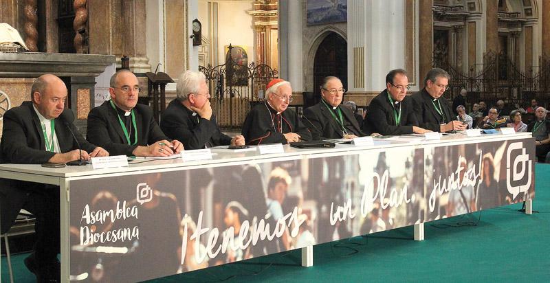 """La Asamblea diocesana aprueba las propuestas para impulsar la nueva acción evangelizadora Cardenal Cañizares: """"Edifiquemos una diócesis cercana y acogedora, evangelizadora y misionera"""""""