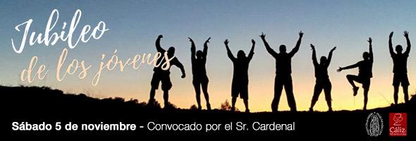 5-N: Todo listo para el Jubileo de los jóvenes La jornada incluye peregrinación, confesiones, eucaristía, cena de sobaquillo y concierto de Ávaro Fraile
