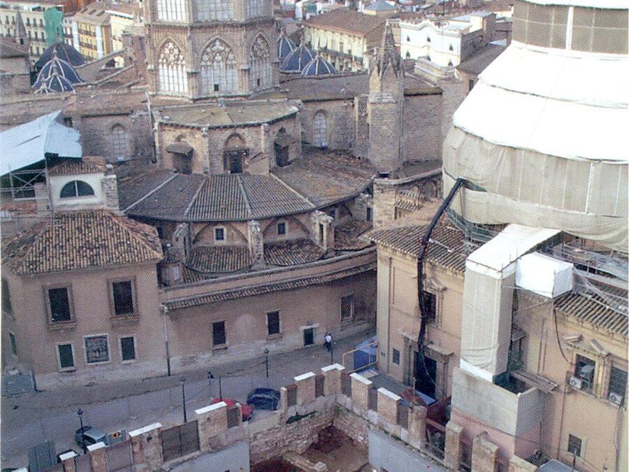 Los orígenes cristianos de Valentia La Catedral visigoda, clave de la expansión del cristianismo de la sede episcopal del siglo VI