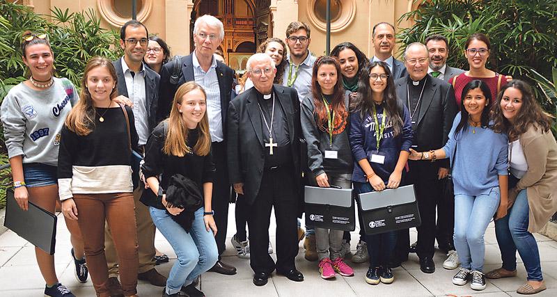 El cardenal Cañizares exhorta a renovar las conciencias para acabar con el hambre La UCV celebra el Congreso Internacional Pobreza, Hambre y Alimentos Emergentes