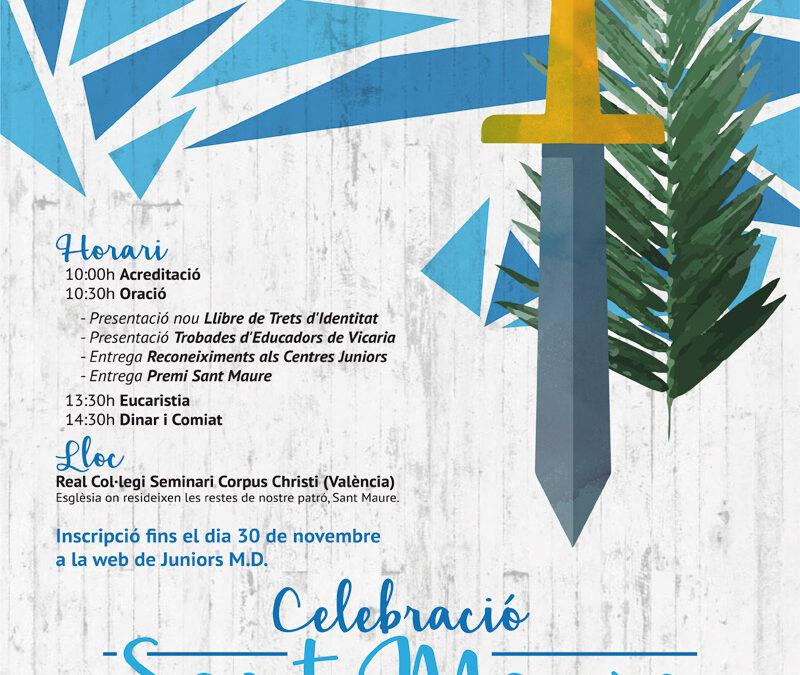 Juniors MD celebra a San Mauro, su patrón El 4 de diciembre en el Seminario Corpus Christi