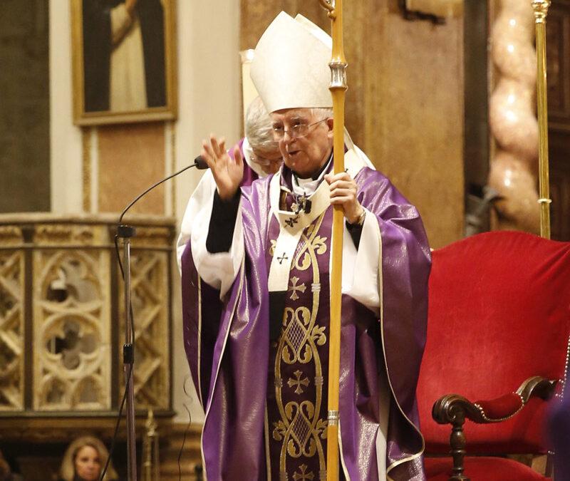 Homilía del Cardenal en el funeral de Rita Barberá Celebrado en la Catedral el 28 de noviembre