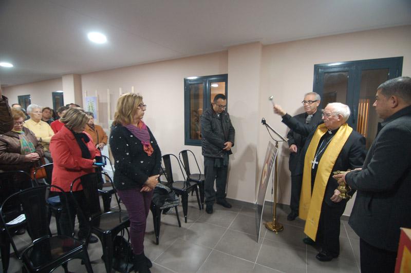 'Casa de Cáritas' en Alzira, un centro hecho por todos y para todos '135.000 cafés solidarios', entre otras ayudas, concluyen este edificio