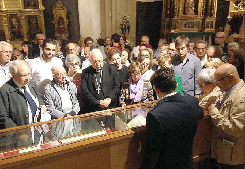 Xàtiva acoge La I Bienal de Arte sobre patrimonio cultural de la Iglesia El viernes 11 y el sábado 12 de noviembre