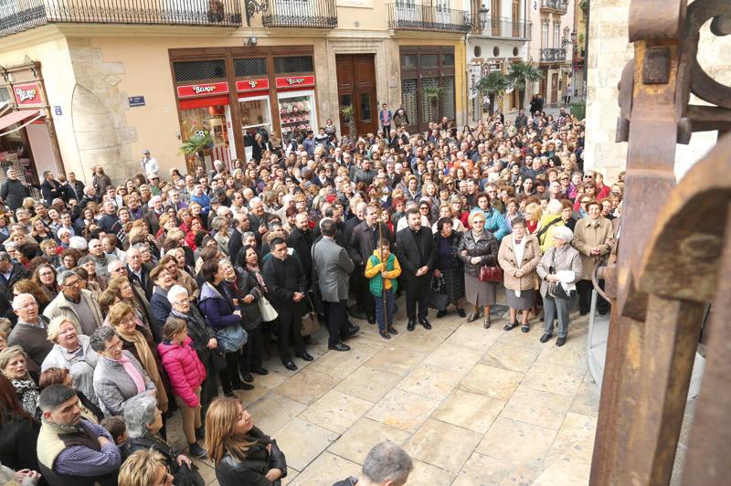 Valencia culmina el Año Santo Este domingo 13 de noviembre se clausura de forma conjunta el Año Eucarístico del Santo Cáliz y el Año  Jubilar de la Misericordia convocado por el papa Francisco