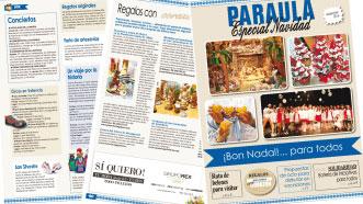 Esta semana, especial de Navidad de PARAULA Con propuestas solidarias