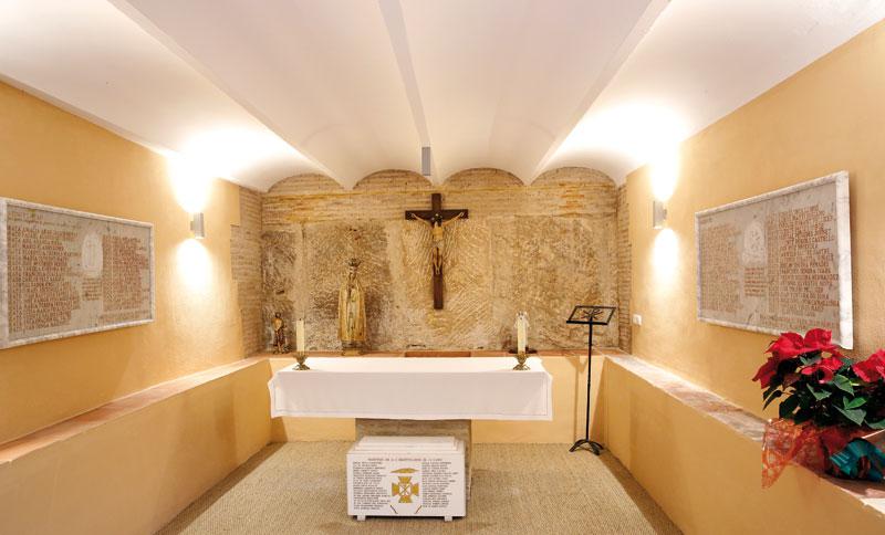 """""""El Señor probó aquí a los elegidos"""": una 'checa' de la persecución en Valencia, bendecida como capilla martirial En la carbonera del antiguo Seminario, en la calle Trinitarios, donde fueron torturados numerosos mártires"""