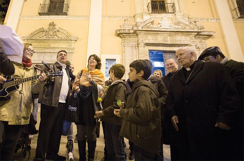 """La sociedad necesita """"educar en el valor de la vida desde sus mismas raíces"""" Así lo indica el Cardenal en la misa con motivo de los Santos Inocentes"""