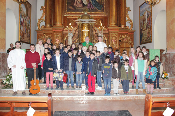 Los seminasristas visitan Villalonga Dentro de su formación diocesana durante una visita arciprestal con el Seminario Mayor y Menor