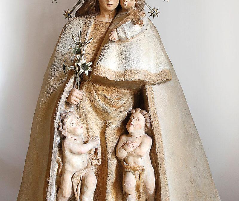 Las primeras imágenes de la Mare de Déu, en moldes en 3D Parroquias y misioneros solicitan a la Basílica figuras de la Virgen
