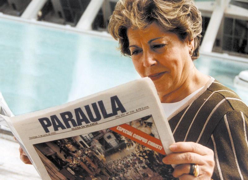 Gracias Paloma Fallece la periodista Paloma Gómez Borrero, durante muchos años corresponsal en el Vaticano