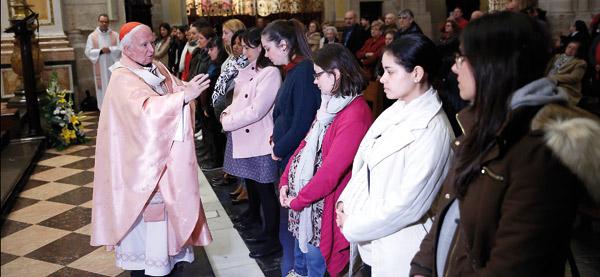 El cardenal Antonio Cañizares pide a los  legisladores compromiso a favor de la vida En la misa de la Jornada por la Vida en la que don Antonio bendijo a embarazadas