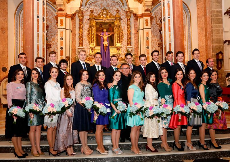 Presentación de festeros En la iglesia de los Santos Juanes de Puzol